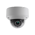 8MP VF Dome Camera, 3840x2160@15fps, 2.7~13.5mm motorized vari‐focal, EXIR, DWDR, IP67, 9V~15V DC