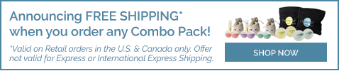 Free Shipping with Combo Packs