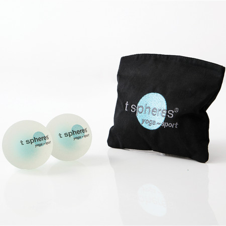 Aromatherapy~infused massage balls, infused with peppermint essential oil. Great for travel, work, home spa, yoga or fitness.