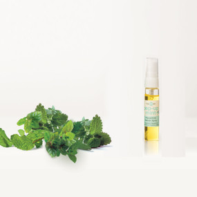 Peppermint Pep-Up-Mint Refresher Spray for use with the corresponding Pep-Up-Mint T Spheres set.