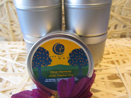 Aromatherapy at its best! Relax and enjoy. 100% Soy Wax -