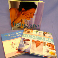 Home Spa Books... Everything you need to know plus