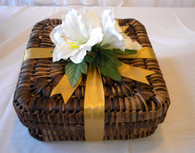 Beautiful Holiday Gift Basket for Her or for Him. Custom packed and wrapped for any occasion.