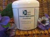 Aromatherapy Walnut Body Scrub 4oz