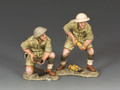 EA091(AU)  25 Pdr. Gun Crew (Australian) by King and Country
