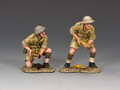 EA091(BR)  25 Pdr. Gun Crew (British) by King and Country