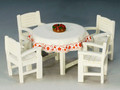 LAH102  Berghof Table and Chairs by King & Country (Retired)