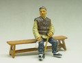 HK111  Old Man with Long Pipe by King & Country (Retired)