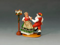XM009-02  Mr & Mrs Claus Having Fun by King & Country (Retired)