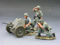 FJ007-07  Anti-Tank Gun Set by King & Country (Retired)