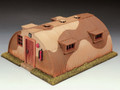 AK073  AK Airfield Hut by King & Country (RETIRED)