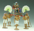 AE001  Pharaoh's Sedan Chair by King & Country (RETIRED)