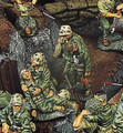 IWJ012  Wounded Marines by King & Country (Retired)
