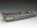 DD137  Normandy LCVP Landing Craft PA26-2 by King & Country (RETIRED)