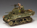 DD223  M3A3 Stuart Light Tank by King & Country