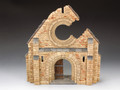 SP037  Battle Scarred Normandy Church Facade by King & Country (RETIRED)