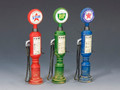 SP052  Petrol Gas Pumps (3 Pieces) by King and Country