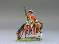 BR051  Mounted Indian w/Booty by King & Country (RETIRED)