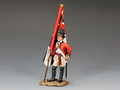 BR082  RWF Officer with Kings Colour by King & Country (RETIRED)