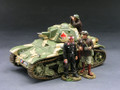 FoB037  French Renault R35 Tank by King & Country (RETIRED)