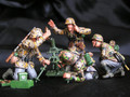SS1  German 8cm Mortar with 4 man SS Crew LE300 Sets by New Model Army (RETIRED)