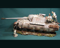 HB011a  Damaged Panther Winter Camo by Honour Bound (RETIRED)