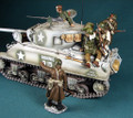 HB013a  Tank Riders for the Sherman (winter camp) by Honour Bound (RETIRED)