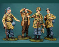HB017  German Paratroopers with British Prisoner by Honour Bound (RETIRED)