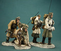 HB037  Winter Radio Team LE70 by Honour Bound (RETIRED)