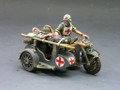 WS097  Medic Evac Motorcycle Combo by King & Country (RETIRED)