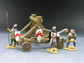 MK025  The Catapult Set by King and Country  (RETIRED)
