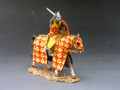 MK048  Attacking Crusader with Sword Mounted by King and Country  (RETIRED)