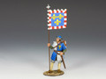 MK088  Royal Man At Arms with Banner by King and Country (RETIRED)