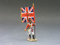 NA127  CG Officer with Regimental Colour by King and Country (RETIRED)