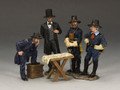 CW102  Abraham Lincoln & His Generals by King and Country (RETIRED)