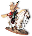 TW01  Cavalry Scout with White Horse by King & Country (Retired)