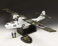 AIR069B  PBY Catalina Flying Boat (White) LE2 by King and Country (RETIRED)