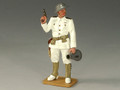 USN002  Officer with Pistol & Loud Hailer by King and Country (RETIRED)