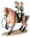 TW19  Cavalry Bugler on Tan Horse by King & Country (Retired)