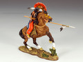 TRW015  Mounted Warrior with Lance by King and Country (RETIRED)