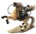 TW21  Shot Trooper on Tan Horse by King & Country (Retired)