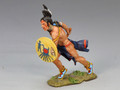 TRW018  Charging Warrior with Axe by King and Country (RETIRED)