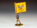 KX008  Regimental Flag Bearer by King and Country (RETIRED)