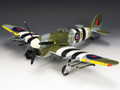 RAF030  Hawker Typhoon Mk 1B  with Tear Drop Canopy LE500 by King and Country (RETIRED)