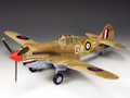RAF039  Curtiss P40 Tomahawk Desert Air Force LE250 by King and Country (RETIRED)
