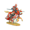 CRU050 Mounted Crusader Outremer Knight Charging by First Legion (RETIRED)