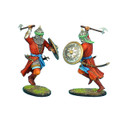 CRU066 Mamluk Warrior Charging with Axe by First Legion