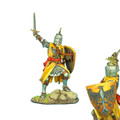 CRU070 Crusader Knight with Brienne Family Heraldry by First Legion