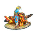 CRU073 Downed Crusader Knight Finished Off by Mamluk Warrior by First Legion