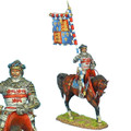 MED002 King's Standard Bearer Sir John Codrington by First Legion